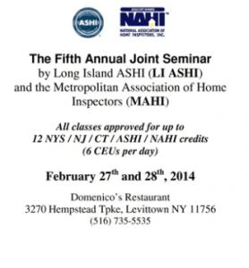 ASHI/MAHI Seminar Long Island
